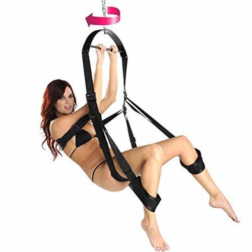 Couple Fantasy Kinky Pleasure Spinning Sex Swing