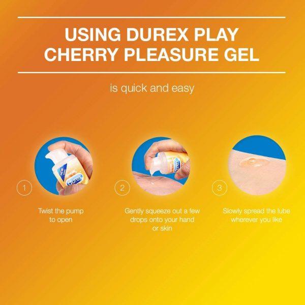 Durex Play Cheeky Cherry Lubricant Gel 50 ML